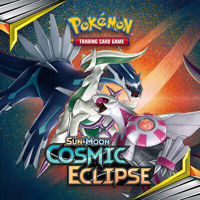 Pokemon cards Cosmic Eclipse /236 Common Uncommon Rare Singles up to 50%Discount