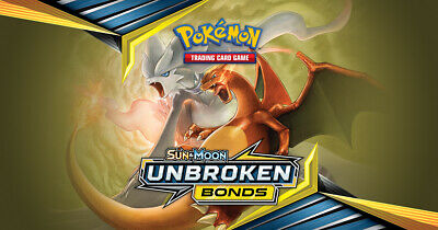 Pokemon cards Unbroken Bonds /214 Common Uncommon Rare Singles up to 50% Discoun