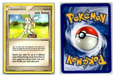 Lady Outing 83/109 Ruby & Sapphire Pokemon Card LP Cond