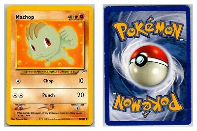 Machop 73/105 Neo Destiny Pokemon Card P Condition *