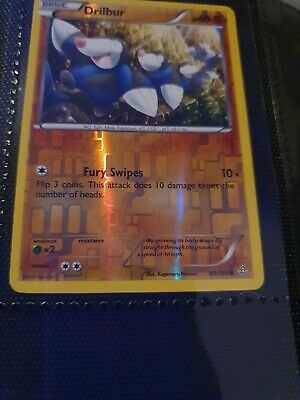 Pokemon Drilbur 89/160 Primal Clash(lightly Played) Reverse Holo Common