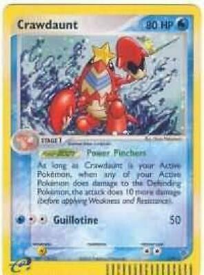 Crawdaunt  - 3/97 - Holo Rare NM Ex Dragon Pokemon 2GQ