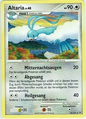Pokemon Card Trading Card Game Platinum No. 18/127 Altaria German