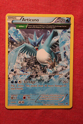 Pokemon X&Y Roaring Skies: Articuno 17/108 Full Art Non Holo Ancient Trait - LP