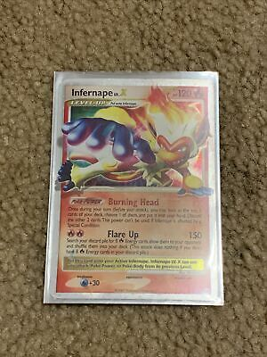 Infernape Lv.X Holo Black Star Promo Diamond & Pearl DP10 Pokemon NM