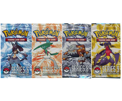 POP SERIES 6 7 8 9 SINGLES Pokemon TCG Organized Play BRAND NEW NEVER USED