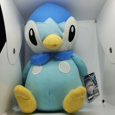 """Pokemon Piplup Plush 9"""" 2008 Diamond And Pearl Toy Factory w/tag(Great Condition"""