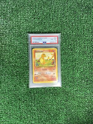 1999 Pokemon Base Set Unlimited Charmander #46 PSA 8 NM-MT