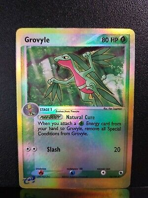 Pokemon Grovyle 32/109 Uncommon Reverse Holo LP Ruby and Sapphire See Pics