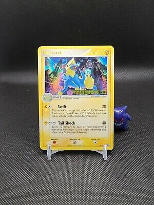 Pokemon - Manectric 7/106 Reverse Holo Ex Emerald Crease  See Pics