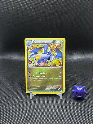 Pokemon - Garchomp 91/124 Cracked Ice Holo Dragons Exalted Light Play See pics