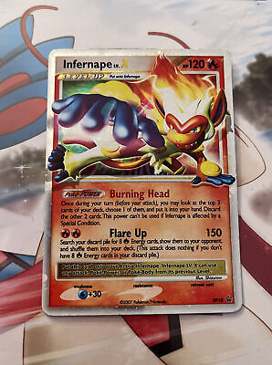 Pokemon Diamond & Pearl Promo Ultra Rare Holo Infernape LV. X DP10 LP