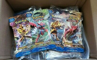 Pokemon TCG XY Breakpoint Blisters x 18 (Half a Booster Box) Sealed Greninja