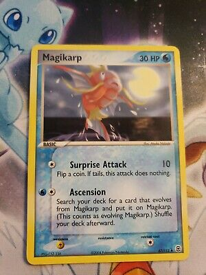 Magikarp - 67/112 - FireRed LeafGreen (Rarity Misprint) Pokemon Error Card NM