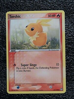 TORCHIC  67/108  EX POWER KEEPERS Pokemon Card tgc
