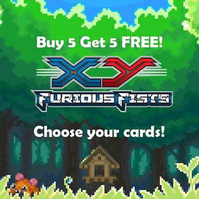 Pokemon Furious Fists Set Choose Your Cards! * GIVEAWAY*