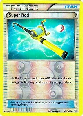 Pokemon Super Rod 149/162 Breakthrough Trainer Reverse Holo