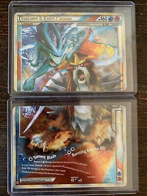 Pokemon HS Unleashed Suicune & Entei Legend Top And Bottom