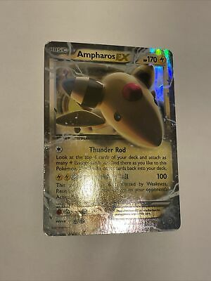 Ancient Origins Holo Rare Ampharos EX 27/98 Pokemon Trading Card MP / HP