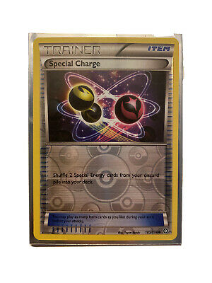 Pokemon SPECIAL CHARGE 105/114 - XY Steam Siege - Rev Holo - MINT