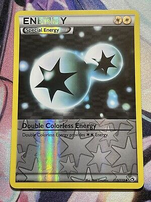 Pokemon TCG Double Colorless Energy 113/113 B&W Legendary Treasures UC ReverseNM