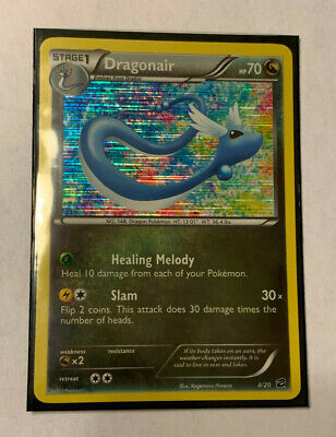 Pokemon Dragon Vault Dragonair 4/20 Holo Near Mint