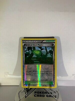 Pokemon TCG Forest of Giant Plants 74/98 Reverse Holo XY Ancient Origins LP