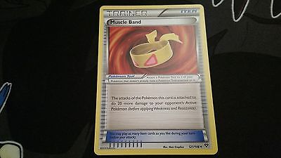 Pokemon Trainer Item Muscle Band non-holo 121/146 XY Base (NM/Mint)