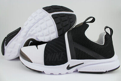 3a9aa98d2d1f NIKE PRESTO EXTREME GS WHITE BLACK RUNNING SLIP-ON WOMEN KIDS US YOUTH SIZES