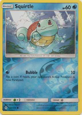 Pokemon - Squirtle - 33/214 (Reverse Foil) - SM Unbroken Bonds - Common