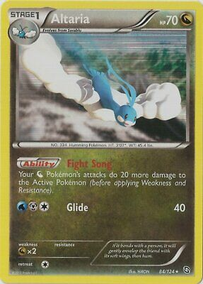 1x Altaria - 84/124 - Holo Rare Dragons Exalted Pokemon Near Mint