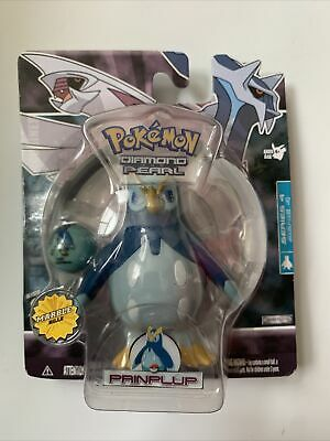 NEW IN PACKAGE POKEMON DIAMOND AND PEARL Prinplup SERIES 4 JAKKS PACIFIC