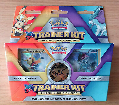 Pokemon XY Trainer Kit-Pikachu Libre and Suicune 2-Player Learn-to-Play Set