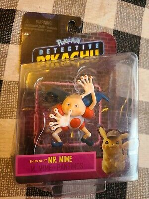 Pokemon Detective Pikachu Mr. Mime Figure Cool Toys 2019 New in Package