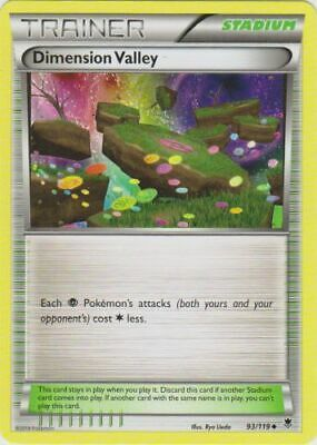 Pokemon - Dimension Valley - 93/119 - XY Phantom Forces - Uncommon - Played
