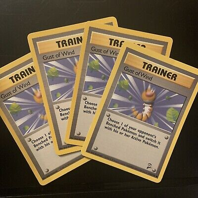Pokemon Card - Gust of Wind - (120/130) Base Set 2 Trainer