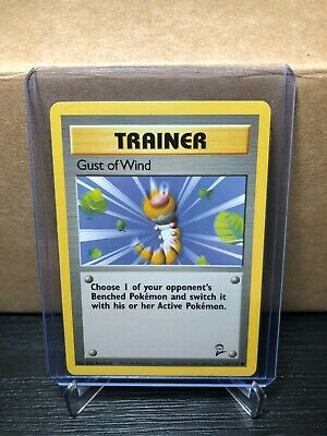 Pokemon Base Set 2 Trainer Gust Of Wind 120/130 (card #598)