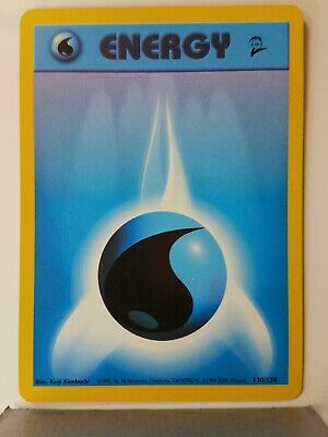 Water Energy 130/130 - LP - Base Set 2 Pokemon Card - $1 Combined Shipping
