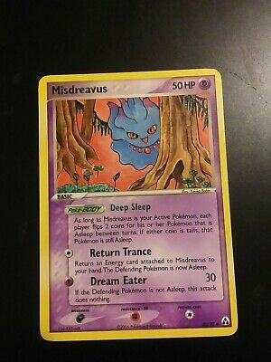 MISDREAVUS - 40/92 - EX Legend Maker - Uncommon - Pokemon Card - NM