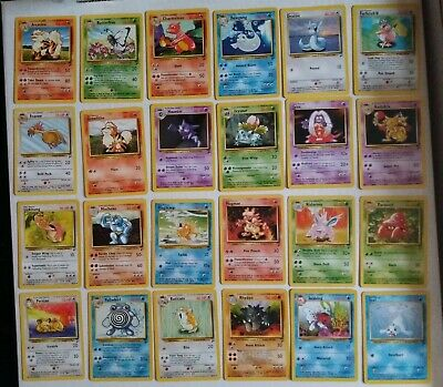Base 2 Set /130 Set  Rare Common Uncommon Pokemon Card You Choose