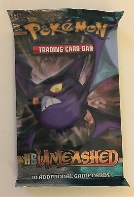 Pokemon HS Unleashed Unopened Booster Pack - Crobat Art