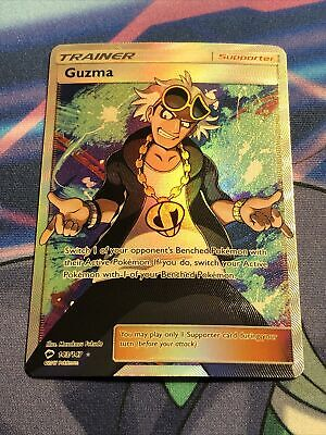 2017 Pokemon - Guzma 143/147 - F/A Burning Shadows NM