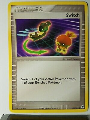 Switch 83/101 - LP - 2006 EX Dragon Frontiers Pokemon Card $1 Flat Shipping