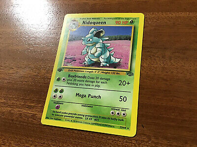 1st Edition Nidoqueen 23/64 Jungle Pokemon Card - VLP - See All Sales