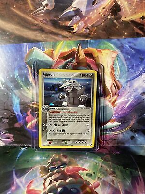 2007 Pokemon Aggron EX Power Keepers Rare Holo 1/108 LP