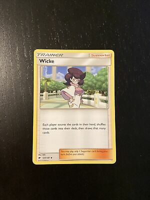 Wicke  127/147  S&M: Burning Shadows Uncommon Mint/NM Pokemon