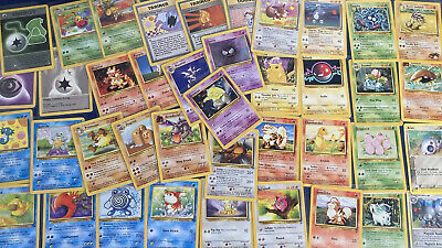 Pokemon Cards - Choose Your Cards!  Base Set, Fossil, Jungle, and More!