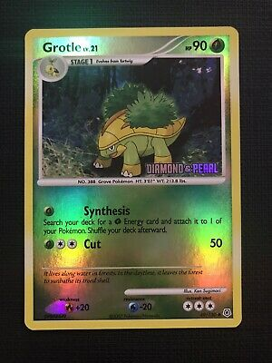 Grotle Reverse Holographic STAMPED Diamond & Pearl 2007 (49/130) Pokemon Card