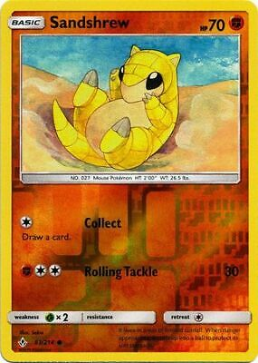 Sandshrew - 83/214 - Common - Reverse Holo - S&M: Unbroken Bonds - Pokemon