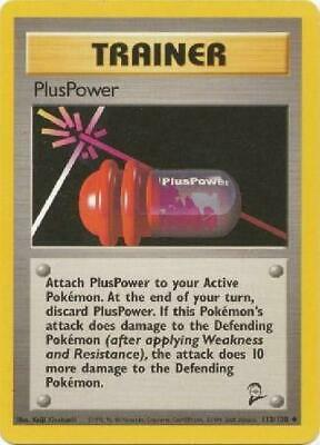PlusPower - 113/130  - Uncommon PL Base Set 2 Pokemon 2B3